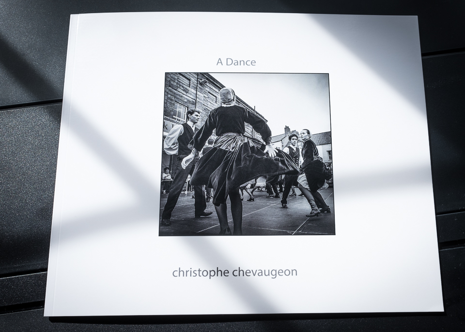 Picture of cover of Photo book ' A Dance ' by Christophe Chevaugeon