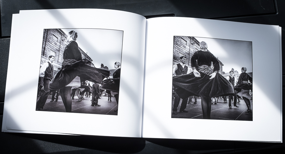 Picture of spread in Photo book ' A Dance ' by Christophe Chevaugeon